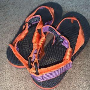 Teva Shoes - I'm great shape orange & purple